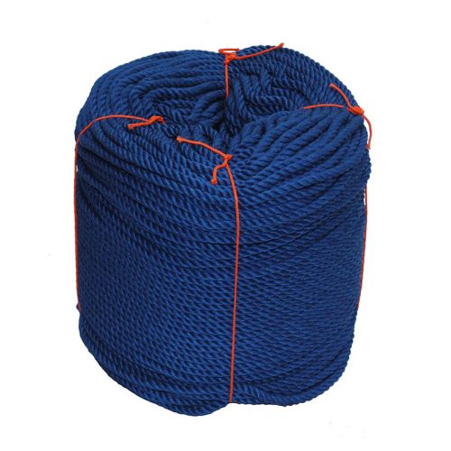 6mm Blue PolyCotton Rope - 220m coil