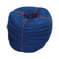 8mm Blue PolyCotton Rope - 220m coil