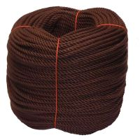 6mm Brown PolyCotton Rope - 220m coil