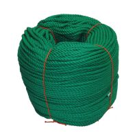6mm Green PolyCotton Rope - 220m coil