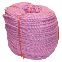 6mm Pink PolyCotton Rope - 220m coil