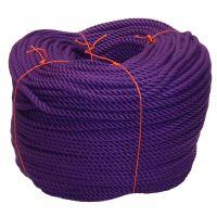 8mm Purple PolyCotton Rope - 220m coil