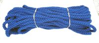 10mm Royal Blue Polyester Pet Lead Rope - 24m coil