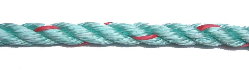 Green Polysteel Rope sold by the metre