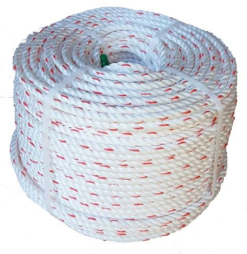 12mm White Polysteel Rope 220m coil
