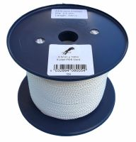 3.5mm x 100m White 8-plait Polyester Cord