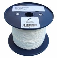 3mm x 150m White 8-plait Polyester Cord