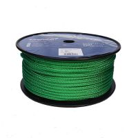 8mm Green Braid on Braid Polyester 100m reel