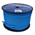 10mm Solid Blue Braid on Braid Polyester 100m reel