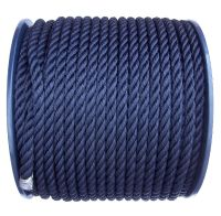 Navy Blue Polyester Rope
