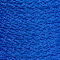 14mm Blue Hollow Braid Polyethylene sold by the metre