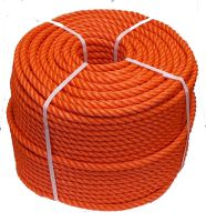 16mm Orange Polyethylene Rope - 220m coil