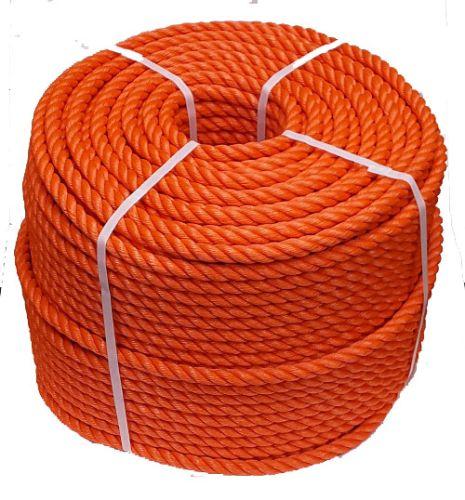 18mm Orange Polyethylene Rope - 220m coil