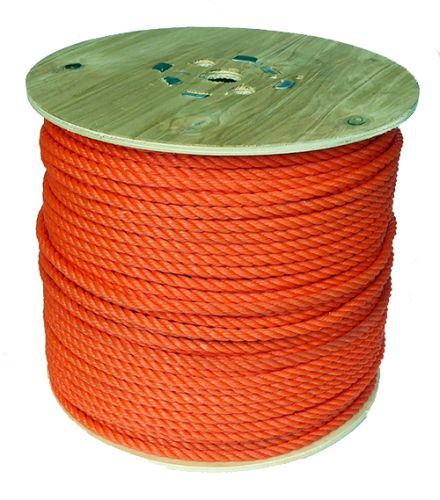 14mm Orange Polyethylene Rope - 220m reel