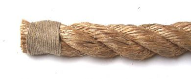 Whipped End 14mm to 20mm natural ropes