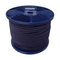 3mm Navy Shock Cord 100m reel
