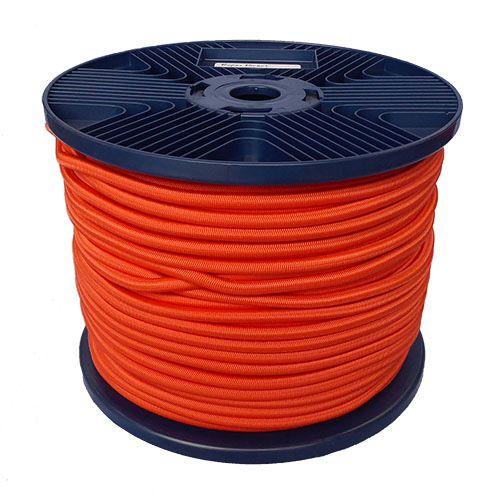 4mm Orange  Shock Cord 100m reel