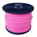 3mm Pink Shock Cord 100m reel