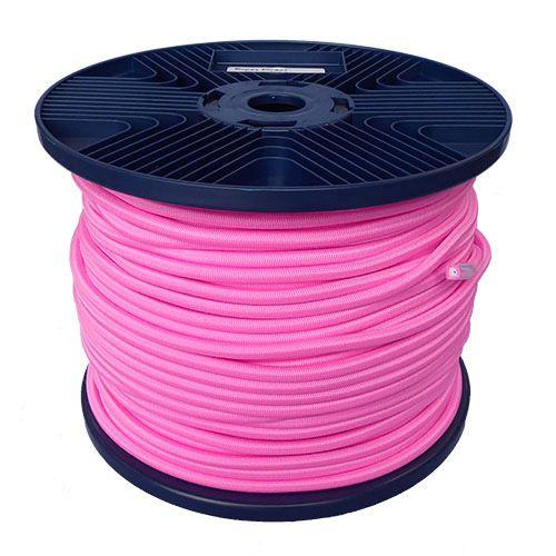 3mm Pink Shock Cord 100m reel