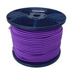 3mm Purple Shock Cord 100m reel