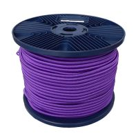 3mm Purple Shock Cord 100m reel
