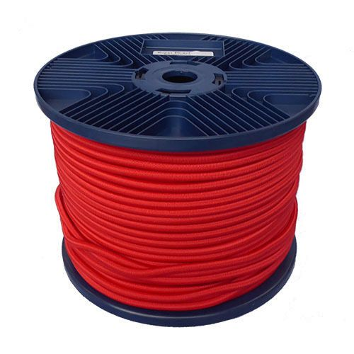 6mm Red Shock Cord 100m reel