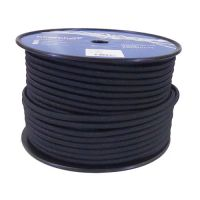 10mm Black Shock Cord sold on a 100m reel