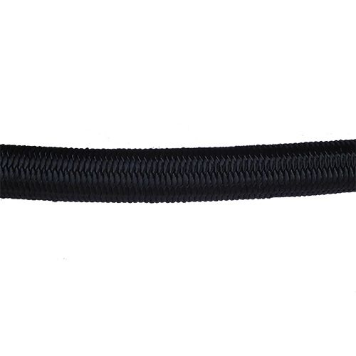 16mm Black Shock Cord sold by the metre