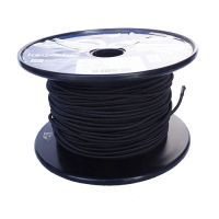 3mm Black Shock Cord sold on a 100m reel