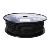 6mm Black Shock Cord sold on a 100m reel