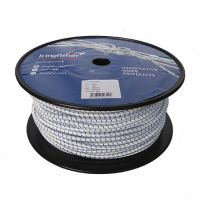 7mm White Fleck Shock Cord - 100m reel