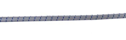 7mm White Fleck Shock Cord per metre