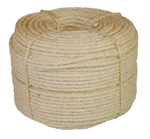 10mm Sisal Rope sold by the 220m coil