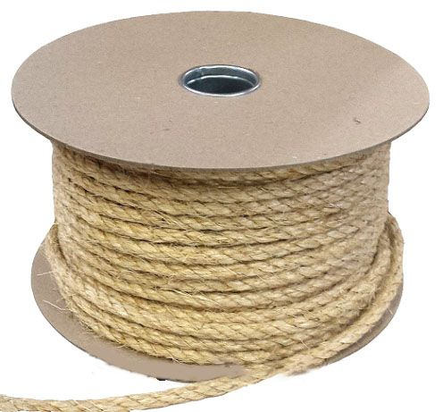 Sisal rope by the reel