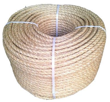 100 Natural Superior Sisal Rope By The Coil Ropes Direct