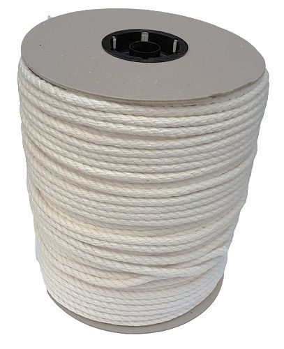 8mm Synthetic Cotton Rope on a 220m reel