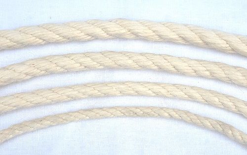 12mm Synthetic Cotton Rope sold by the metre