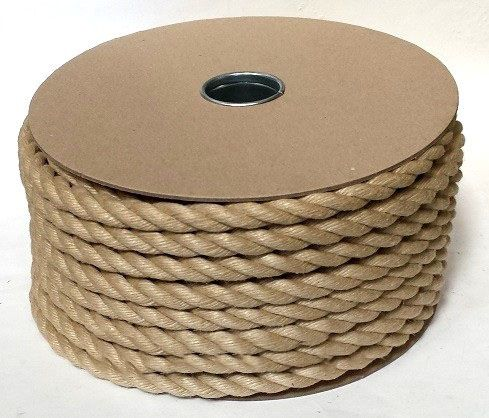 12mm Synthetic Hemp Garden Decking Rope Ropesdirect