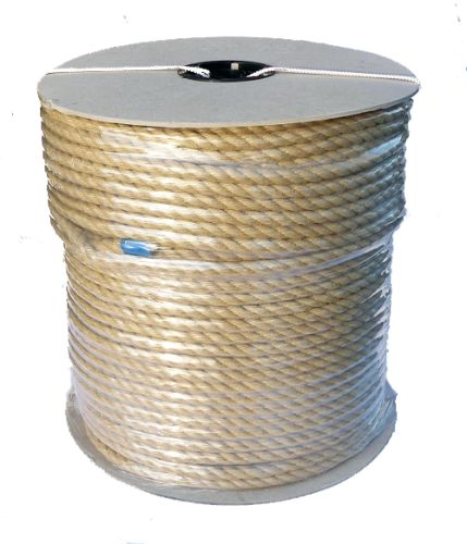8mm Synthetic Hemp Rope on a 220m reel
