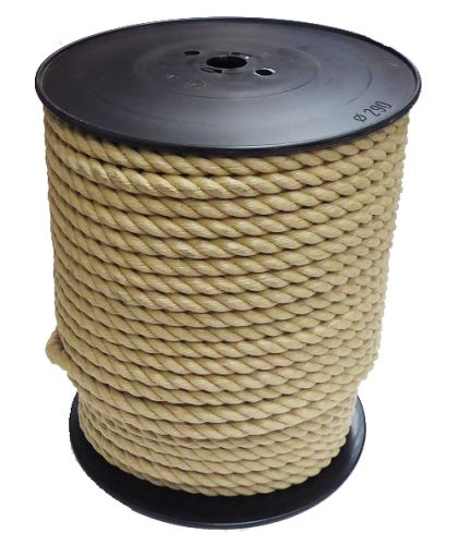 14mm Synthetic Hemp Rope on a 100m reel