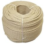 12mm Synthetic Hemp Rope - 220 metre coil