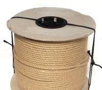 6mm Synthetic Hemp Rope on a 220 metre reel