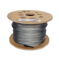4mm 6x19 Steel Wire Rope on a 100m wooden reel