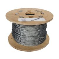 3mm x 100m 7x7 Galvanised Steel Wire Rope