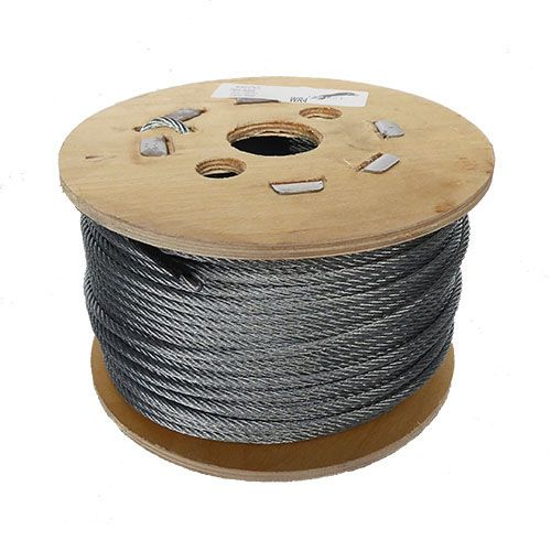4mm x 100m 7x7 Galvanised Steel Wire Rope