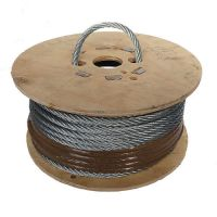 8mm x 50m 7x7 Steel Wire Rope