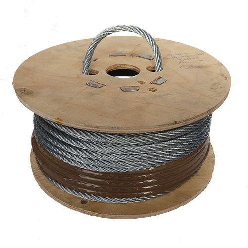 8mm x 50m 7x7 Galvanised Steel Wire Rope