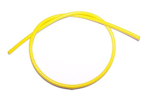 3mm Yellow PVC Coated Steel Wire Rope - 50m reel