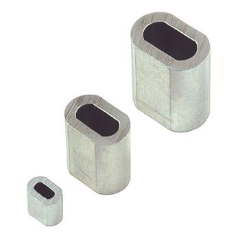 1.5mm x 100 Aluminimum Ferrules