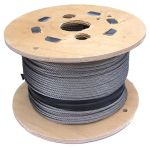 1.5mm Stainless Steel Wire Rope - 100m reel